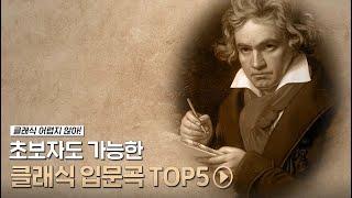 피아노 초보도 가능한 클래식 입문곡 TOP 5 🎹