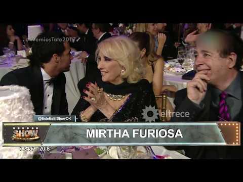 Mirtha Legrand furiosa con los Premios Tato y ahora con Marley