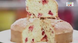Strawberry Oats Cake | Turban Tadka | Chef Harpal Singh | FoodFood