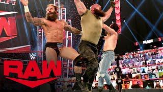 Braun Strowman vs. Elias & Jaxson Ryker – 2-on-1 Handicap Match: Raw, Apr. 5, 2021