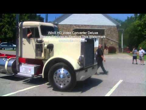 8V71 Detroit Diesel with Straight Stacks