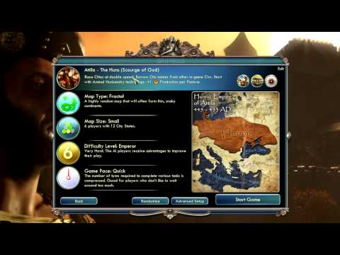 Civilization 5 Gods & Kings: The Huns - Prologue