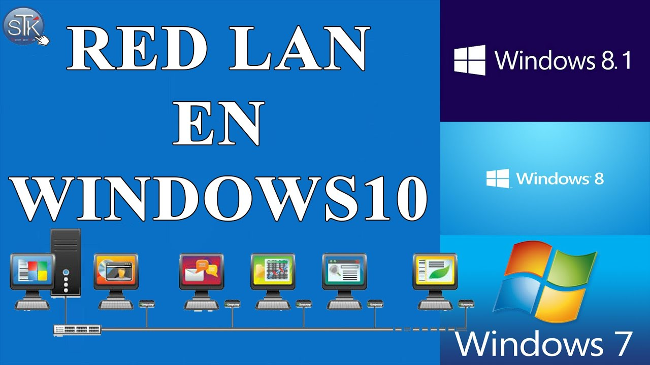 windows 10 how to create a local area network