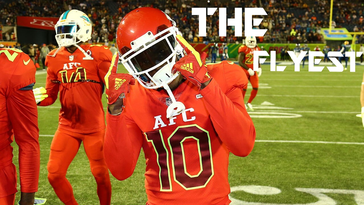 "Tyreek Hill ""The Flyest"" á´´ á´° Kansas City Chiefs"