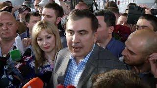 Саакашвили вернулся в Украину | ГЛАВНОЕ
