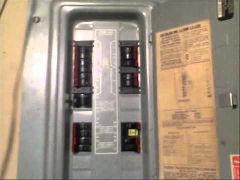fire hazard federal pacific panel with stablock youtube