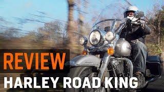 2017 Harley Davidson Road King Review at RevZilla.com