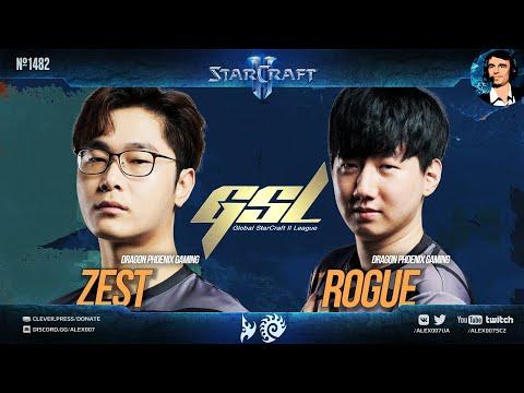ПОЛНЫЙ ЭПИК в полуфинале Кореи | GSL 2021 Season 3 Ro.4 Zest vs Rogue - Корейский StarCraft II