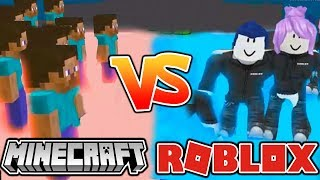 ROBLOX VS. MINECRAFT! - WER GEWINNT? (Roblox Would You Rather)
