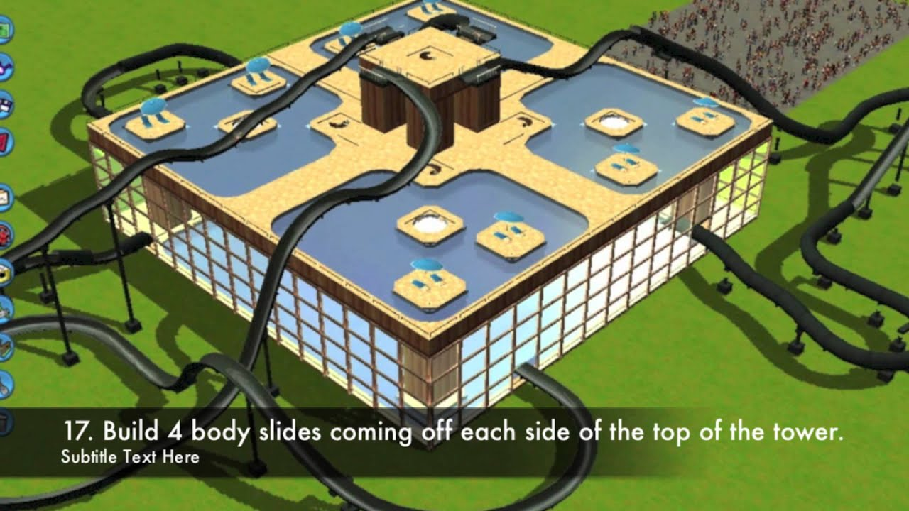 Roller Coaster Tycoon  How To Build A Pool