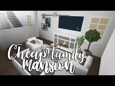 Bloxburg: Cheap Family Mansion