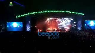Ari Lasso Nyanyikan Hits Mengejar Matahari di Jakarta Fair 2019