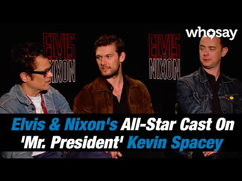 Elvis & Nixon's All-Star Cast Talks Musicians, Politicians and 'Mr. President' Kevin Spacey