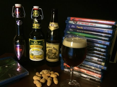 ASMR & Beer #46 - 3 German Beers & Movie Collection Chat
