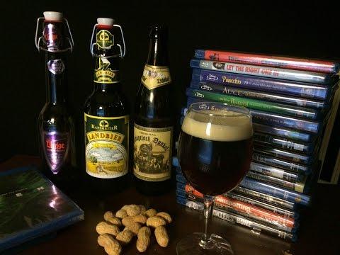 ASMR & Beer #46 - 3 German Beers & Movie Collection Chat