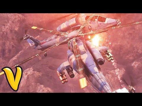 JUST CAUSE 3 HELICOPTER STANDOFF!! :: Just Cause 3 Multiplayer Funny Moments!