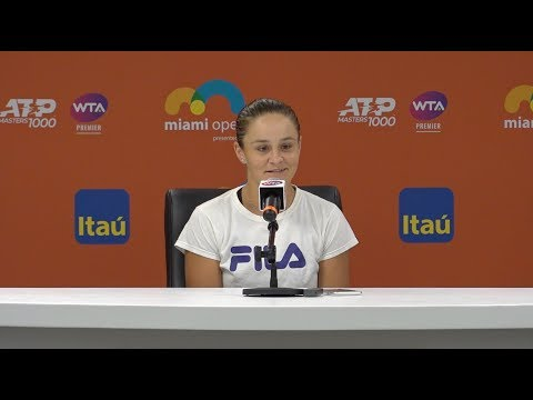 Ashleigh Barty Press Conference | 2019 Miami Open Semifinals