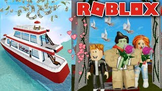 I AM MARRIED + LIVE ON YACHT! (Roblox High School)