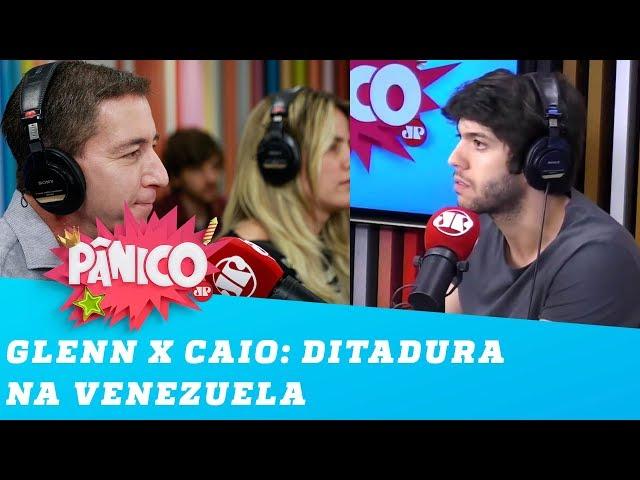 Glenn Greenwald e Caio Coppolla discutem sobre ditadura na Venezuela