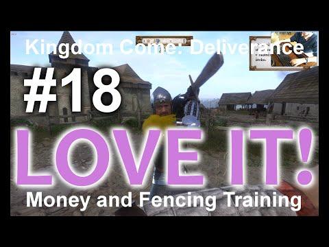 English Tutorial - Money and Fencing Training/Peníze a Výcvik Šermu #18 KCD|Kingdom Come