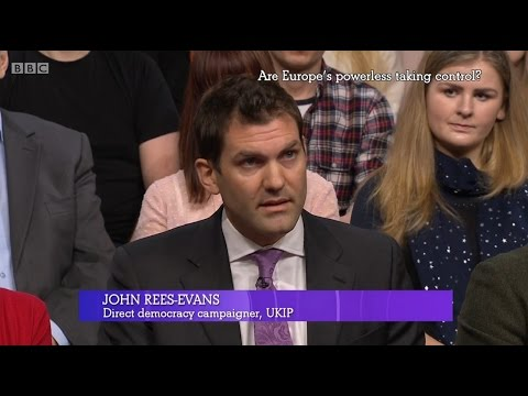 UKIP's John Rees Evans - BBC's The Big Questions - 19/03/2017