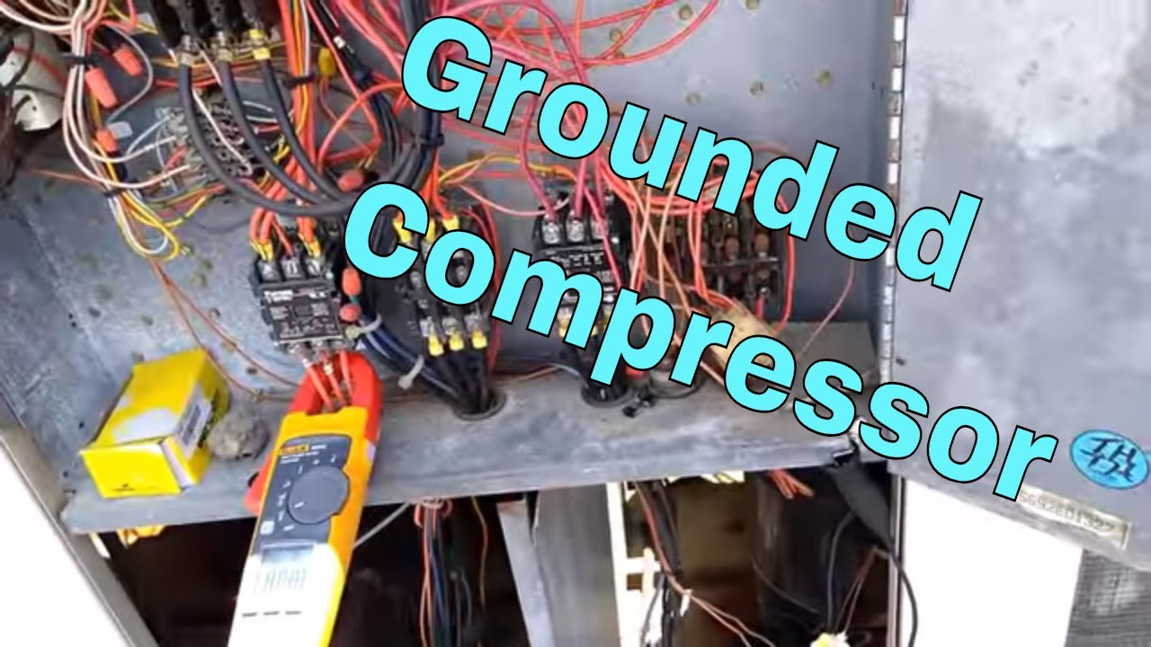 Reed Megger | Compressor Grounded - YouTube