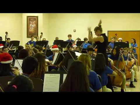 Jingle Bell Rock - Trickum Middle School Orchestra and Guitar 2016-11-29