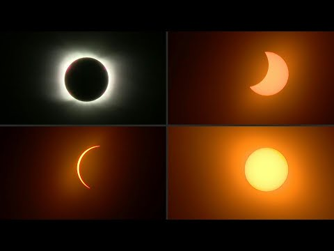 AFP Português: Emoção com o eclipse total do Sol | AFP