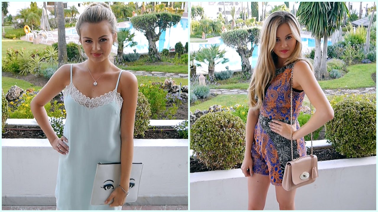 Summer Holiday Outfits | Niomi Smart - YouTube