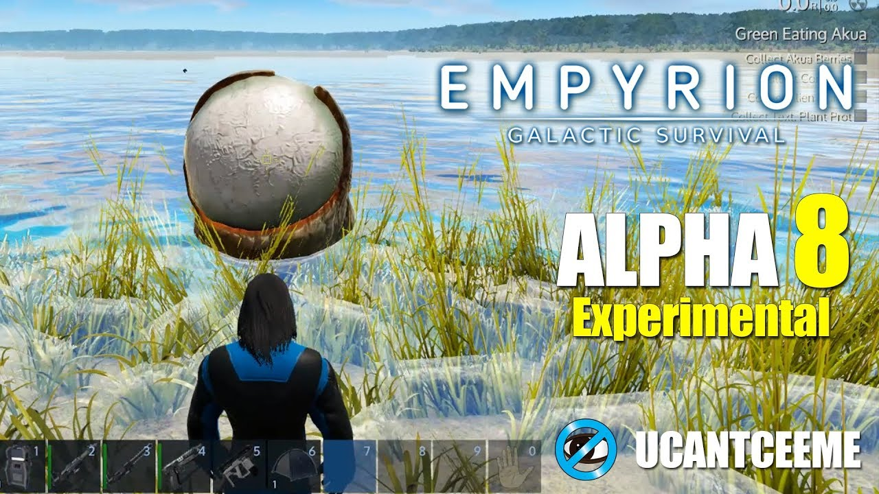 Empyrion Galactic Survival | Alpha 8 Experimental | IS the TECH TREE NEW? | STARVING DEATH | Ep. 3
