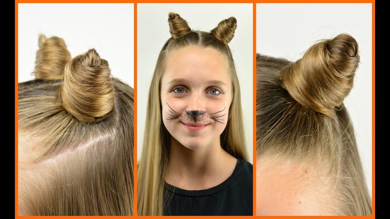 cat hair styles diy cat ears with your own hair 1648