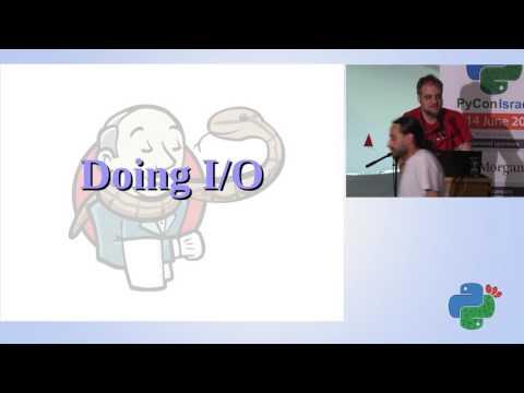 Jenkins as a Python execution platform - Barak Korren - Pycon Israel 2017