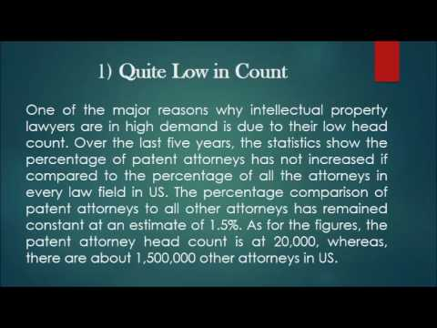 6 Top Reasons Why Intellectual Property Lawyers are in High Demand