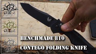 benchmade 810 contego folding knive an edc option