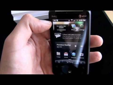 HTC Aria (AT&T) - Unboxing and Hands-On