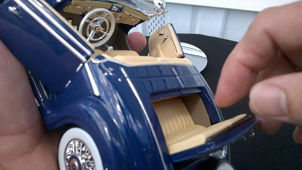 1:24 Mercedes-Benz 500K Roadster in original Verpackung
