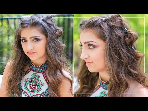 Bubble Braids Prom Hairstyles 2018