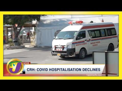 Covid Hospitalization Declines in Western Jamaica | TVJ News