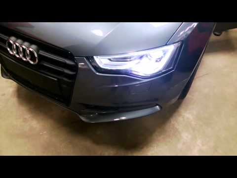 How to run Audi A5 Facelift front lights on prefacelift model