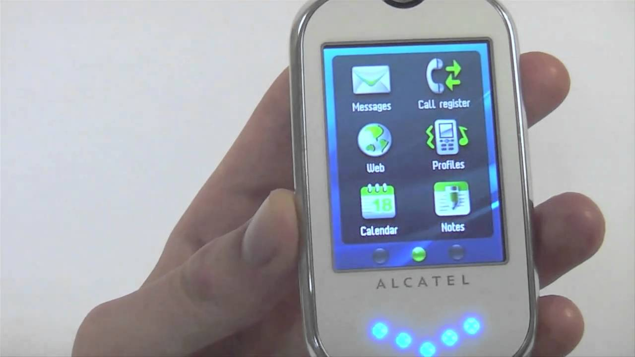Alcatel ot-808 phone. Announced feb 2010. Features 2. 4″ display, 2 mp primary camera, 850 mah battery, 80 mb storage.