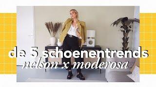 De 5 schoenentrends van herfst/winter 2019/2020 | Nelson X Moderosa