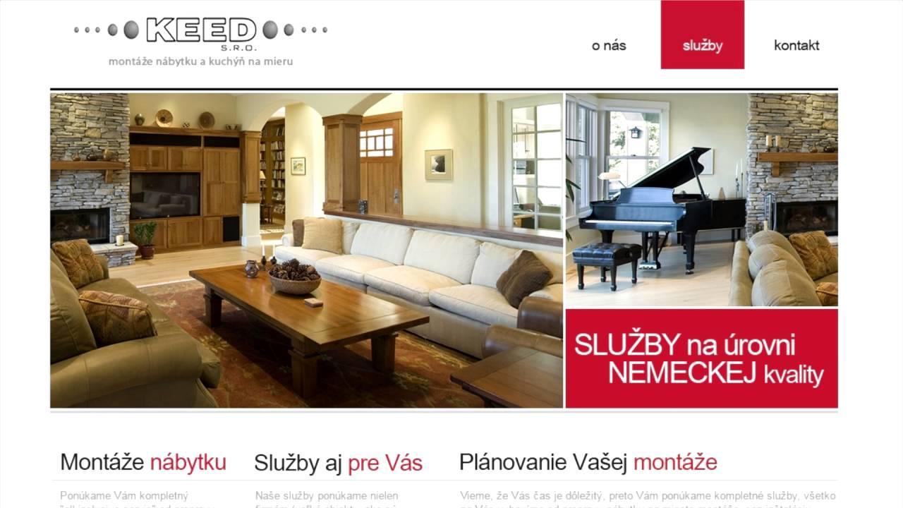 Video KEED, s.r.o. - montáž nábytku, podláh a kuchýň na mieru