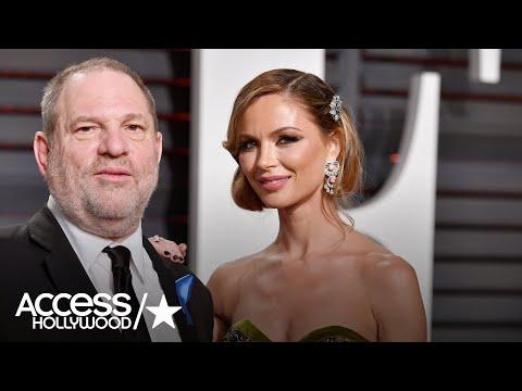 Harvey Weinstein's Wife Georgina Chapman Leaving Him   Access Hollywood