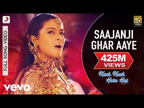 Saajanji Ghar Aaye Full Video - Kuch Kuch Hota Hai|Shah Rukh Khan,Kajol|Alka Yagnik