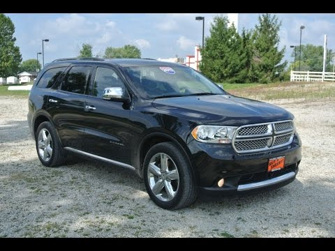2012 dodge durango citadel all wheel drive for sale dayton troy piqua sidney ohio cp14133t. Black Bedroom Furniture Sets. Home Design Ideas