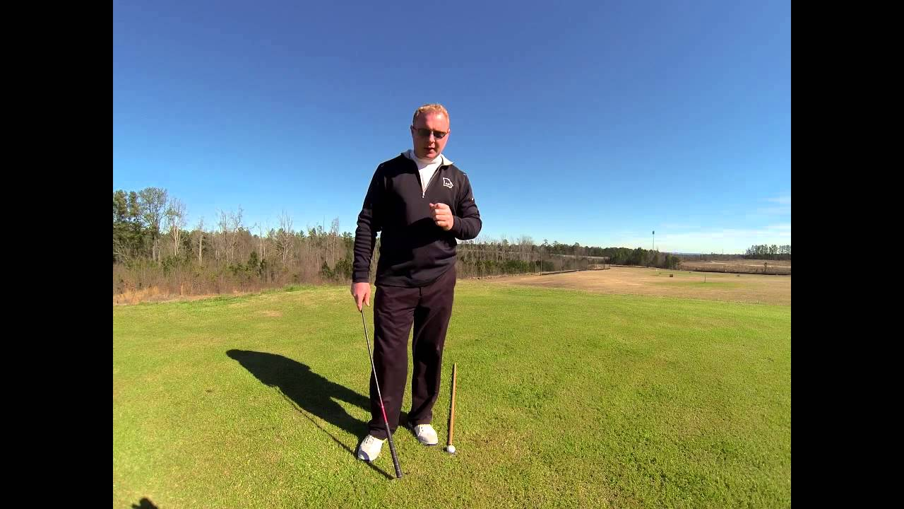 Golf Lessons: Weight Shift Affects Swing Path