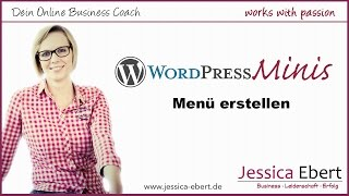 Wp Minis #7 - Menü in Wordpress erstellen / Navigation erstellen