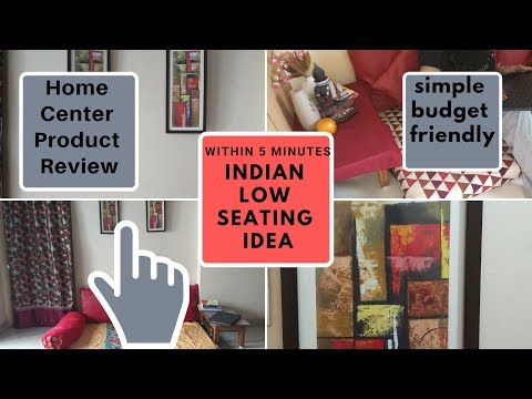 diy-&-budget-friendly-seating-|-living-room-&-bed-room-decor-ideas-|-home-centre-product-review