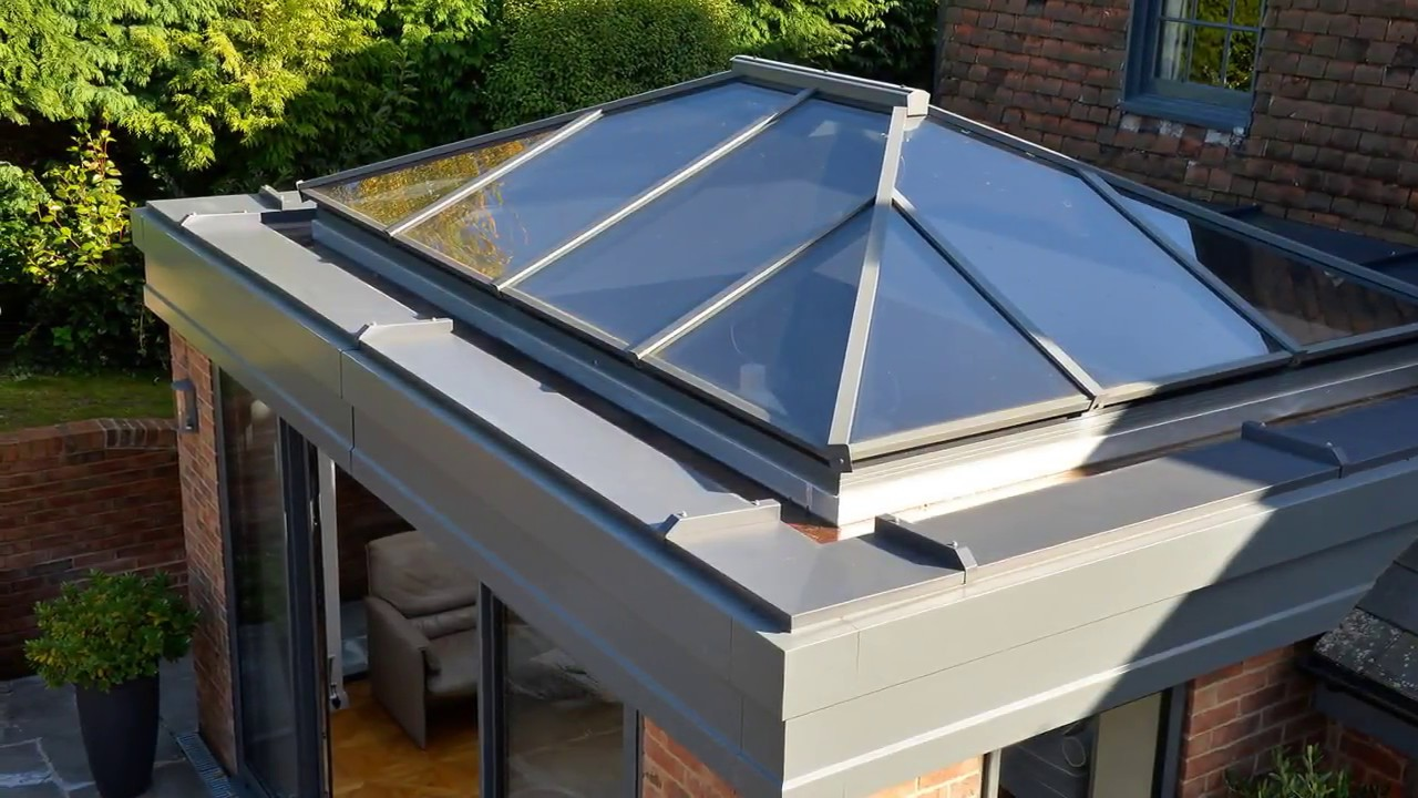 Flat Roof Conservatory Extension Designs - YouTube