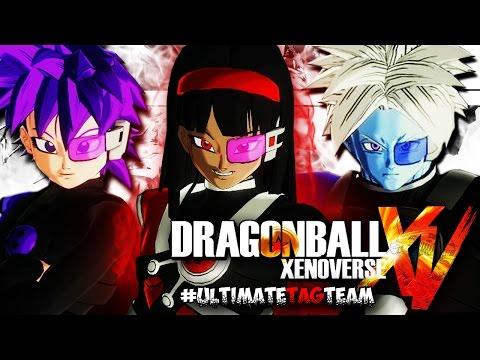 Dragon Ball Xenoverse | Ultimate 3 VS 3 Tag Team FT SQUAD #SymphonicSpiritBallBomb